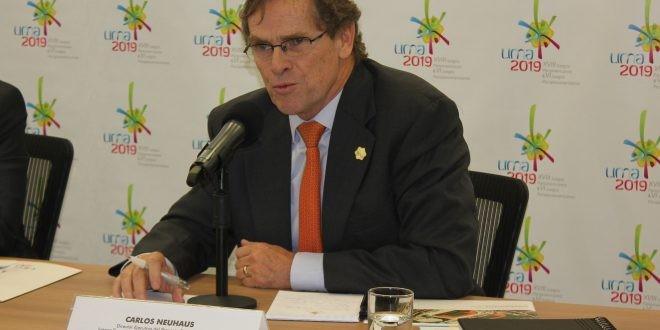 Carlos Neuhaus is the new President of Lima 2019 ©Lima 2019