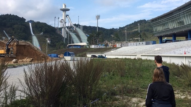 In an extended trip to Asia, Race Director Lasse Ottesen visited the Olympic site in Pyeongchang where major updates have been made to the cross-country course ©FIS
