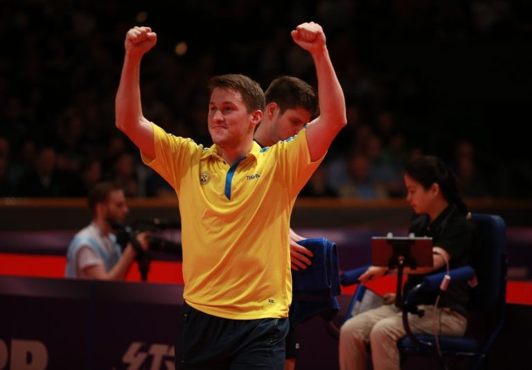 Karlsson causes major upset on way to semi-finals at ITTF Men's World Cup