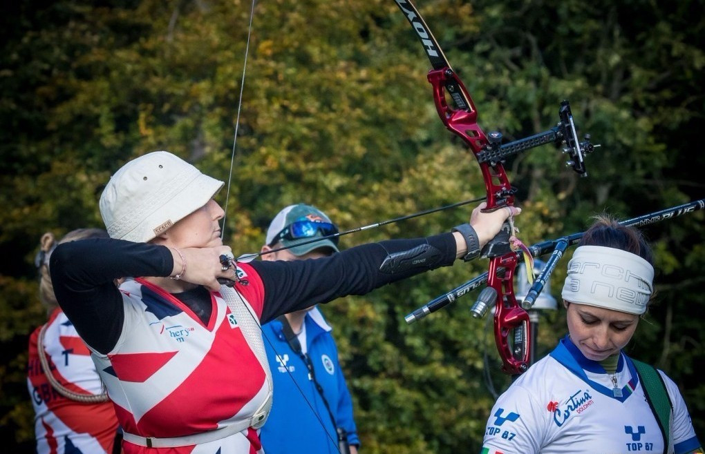 Oliver and Ellison add individual glory to team titles on final day of World Archery Field Championships