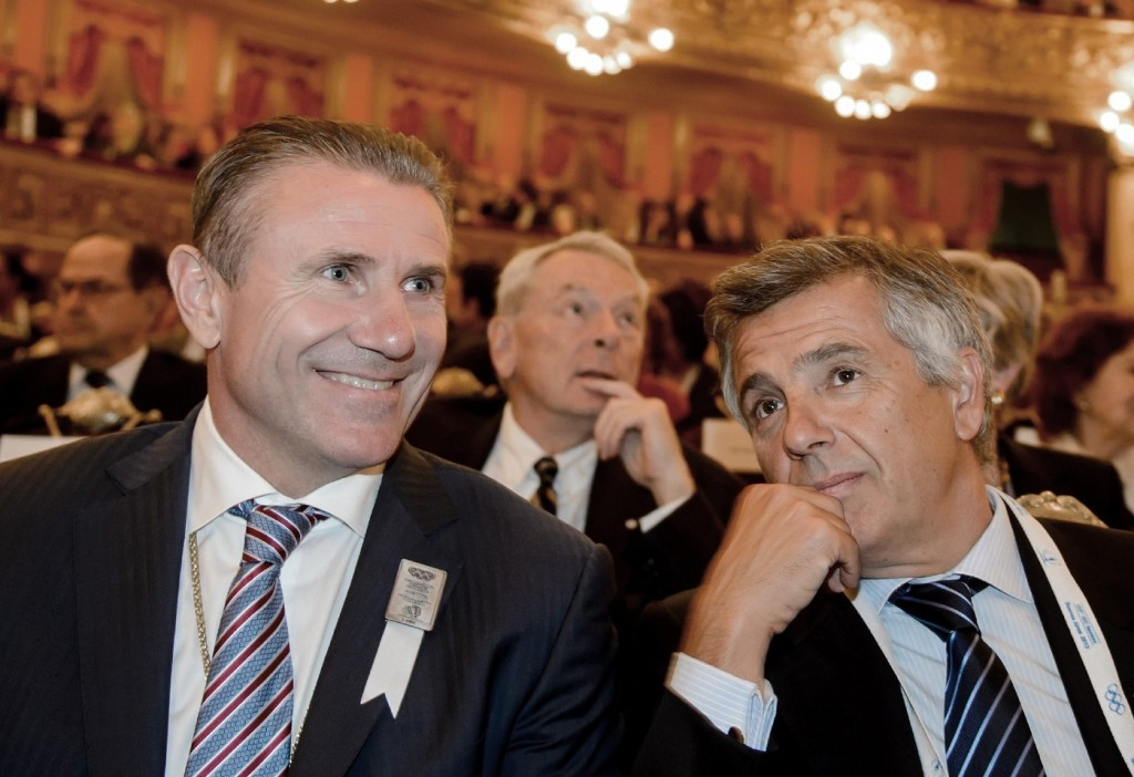Sergey Bubka, left, and Juan Antonio Samaranch, right, are just two IOC members to have criticised WADA ©Getty Images