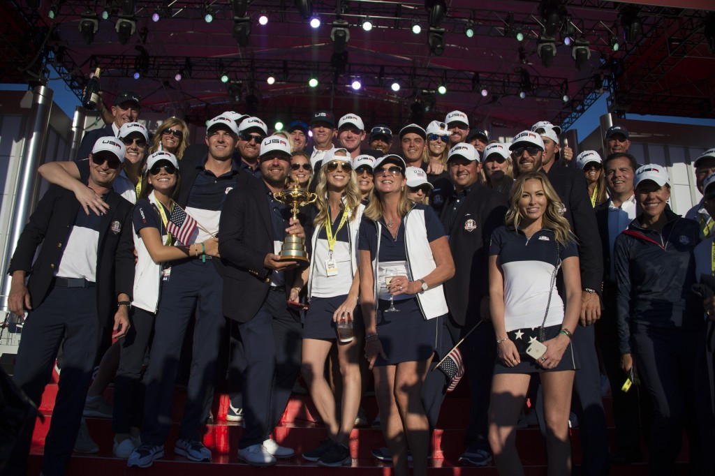 Singles masterclass powers United States to first Ryder Cup title since 2008