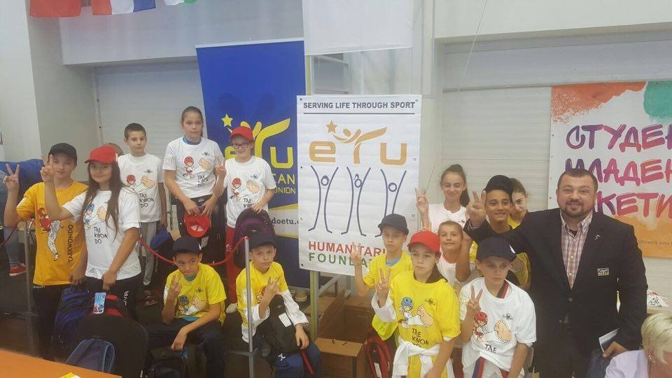 "The ETU organised a ""Back to School 2016"" programme to motivate young athletes ©ETU"