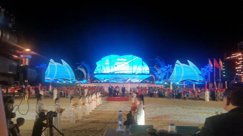 """Lights go out at Asian Beach Games declared a """"complete success"""""""
