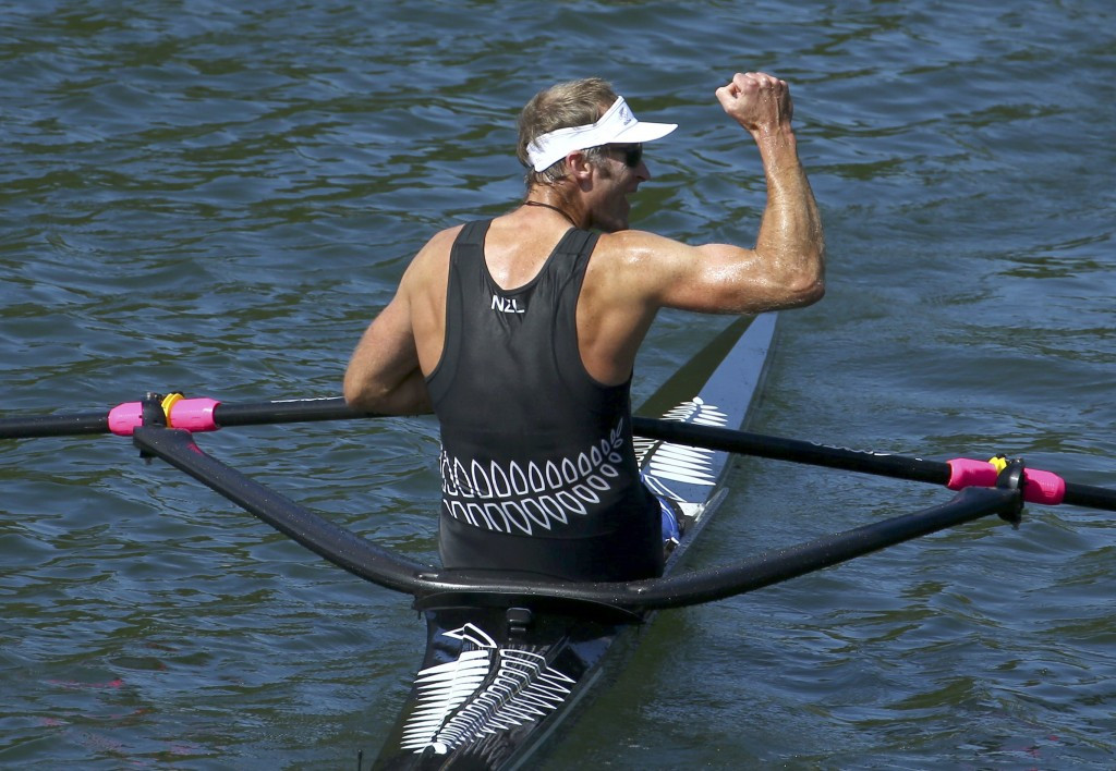 Double OIympic rowing champion Mahé Drysdale of New Zealand has been named among the latest batch of leaked World Anti-Doping Agency data by Fancy Bears' ©Getty Images
