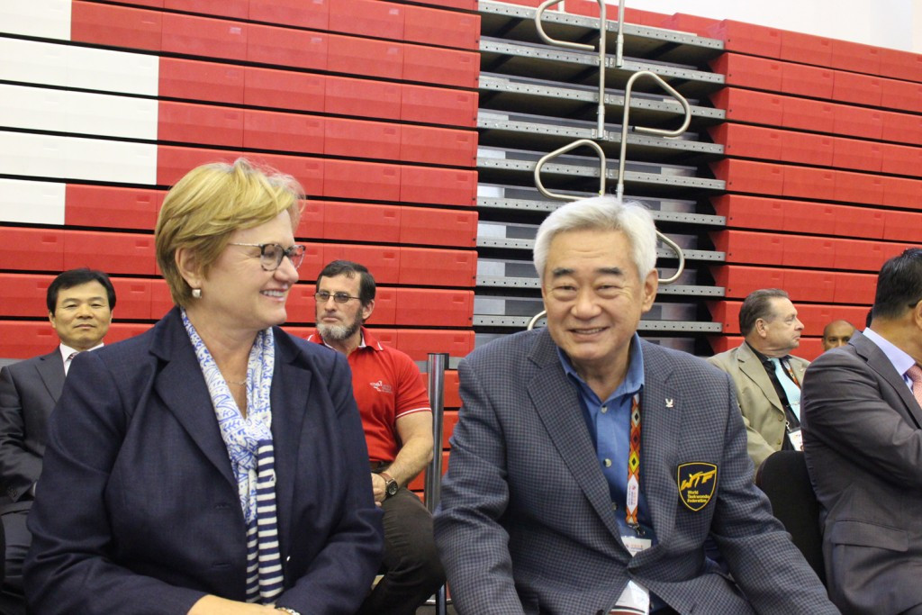 WTF World Poomsae Championships conclude in front of Peru's First Lady