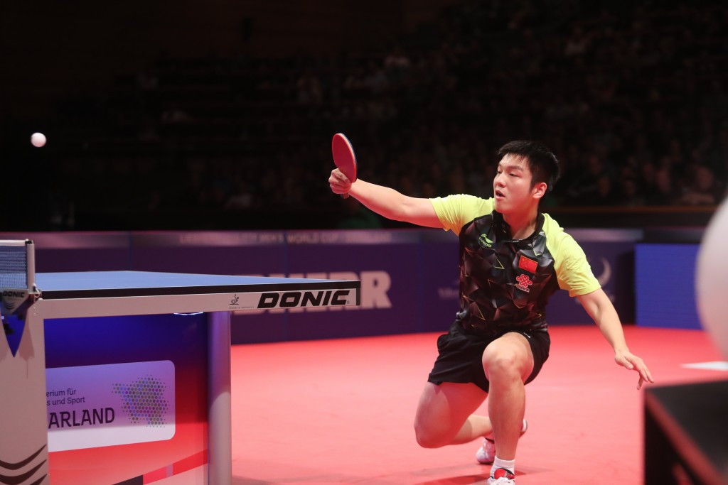 Fan secures ITTF World Cup crown with victory over compatriot Xu