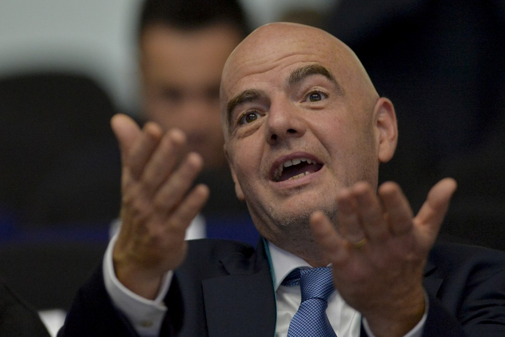 FIFA President Infantino proposes expansion of World Cup to 48 teams