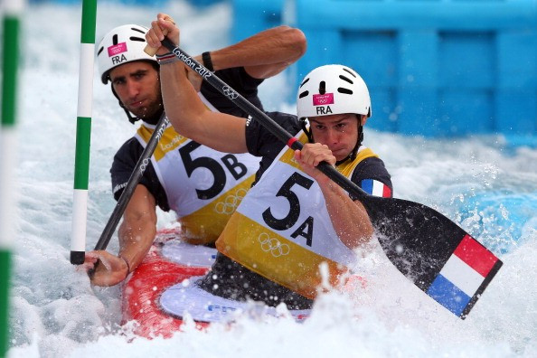 Gauthier Klauss and Matthieu Peche, pictured at London 2012, were other impressive winners today in Prague ©Getty Images