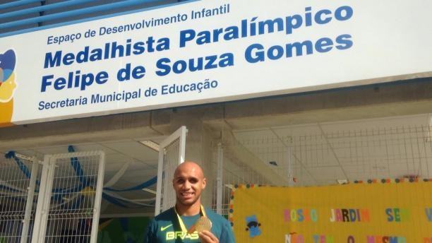 Schools have been named after Brazilian Paralympic gold medallists ©Brazilian Paralympic Committee