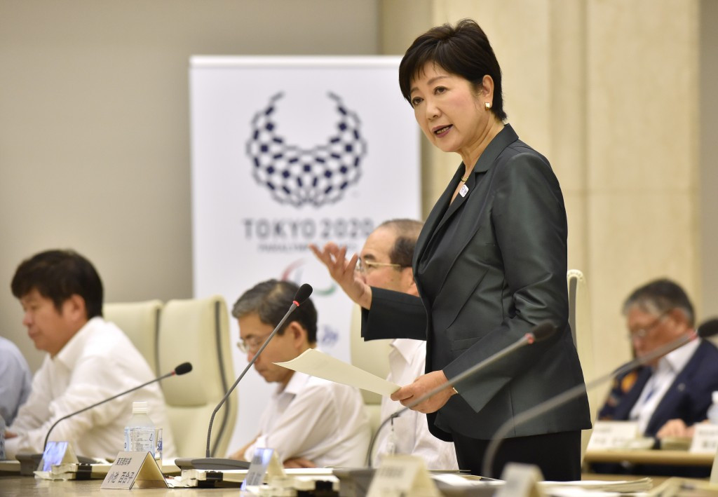 FISA President Jean-Christophe Rolland has held emergency talks with with Tokyo Governor Yuriko Koike following the release of a report which suggested moving venues, including rowing, outside the Japanese capital ©Getty Images