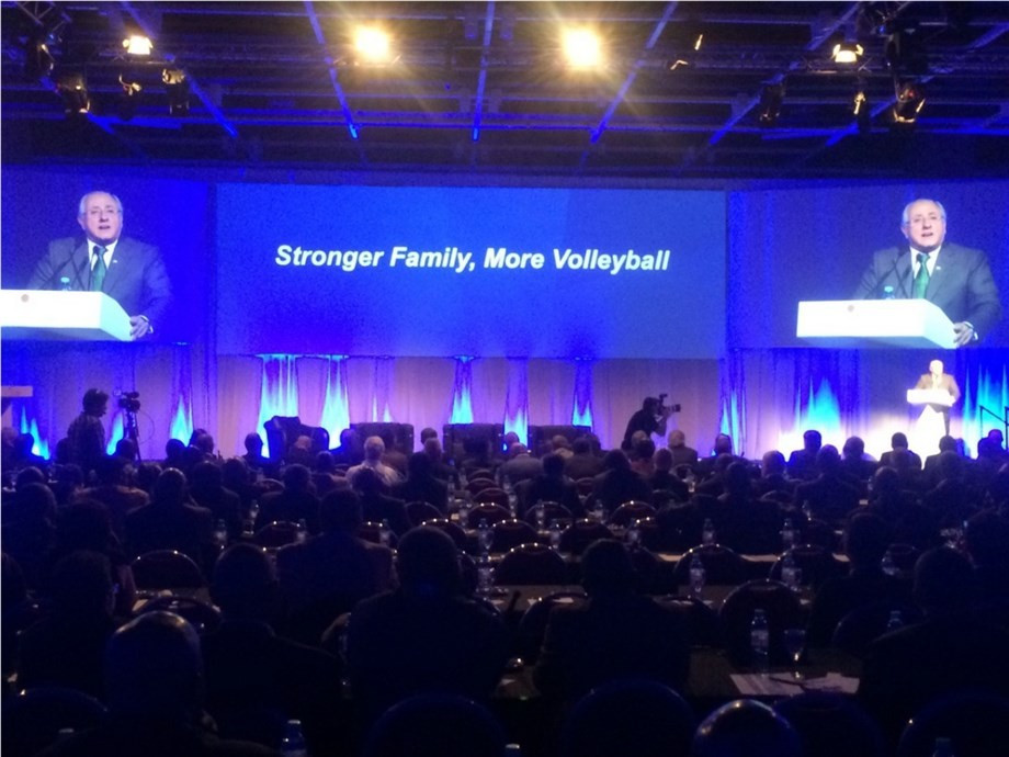 FIVB Congress opens with workshop for National Federations