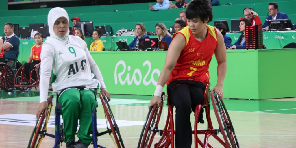 Algeria became Africa's first-ever representatives in the Paralympic Games' women's wheelchair basketball competition at Rio 2016 ©IWBF