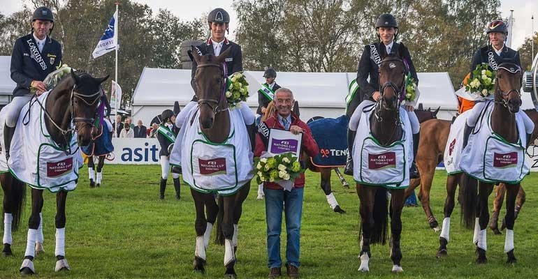 Three nations set to clash for overall FEI Nations Cup Eventing crown in Boekelo