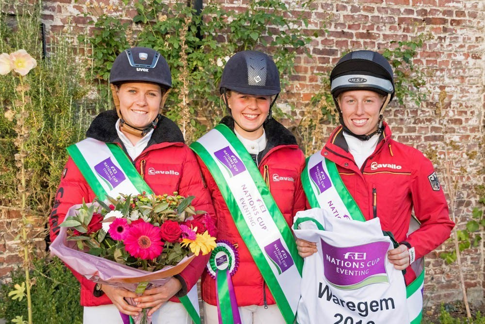 Germany's victory in Waregem last month kept their pursuit of the overall title alive ©FEI