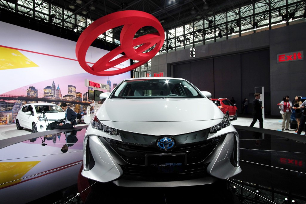 Toyota's hybrid cars align with Swiss Olympic's sustainable strategy ©Getty Images