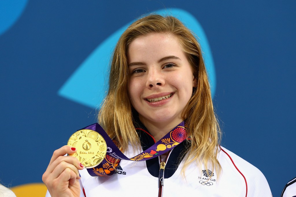 Katherine Torrance won gold with the final dive of the women's three metre springboard