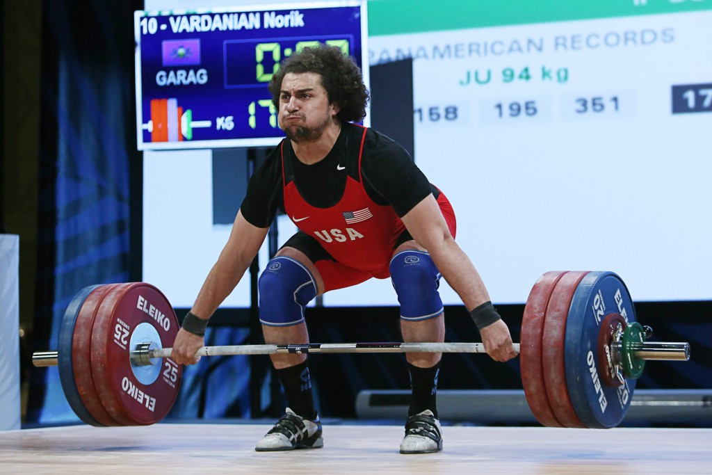 American weightlifter Norik Vardanian has tested positive for a banned substance in a sample he provided while competing for Armenia at the London 2012 Olympic Games ©Getty Images