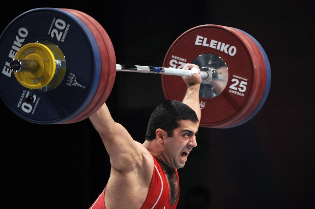 Tigran Martirosyan is another Armenian weightlifter to have been implicated in the Beijing 2008 and London 2012 Olympic retests ©Getty Images