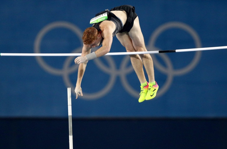 Canada's world pole vault champion Shawnacy  Barber could only finish 10th at Rio 2016 after being cleared on cocaine charges just two days before the qualifying competition ©Getty Images