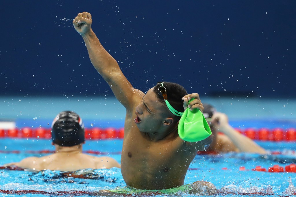 Colombian swimmer already sets sights on Tokyo 2020 after historic Rio 2016 success