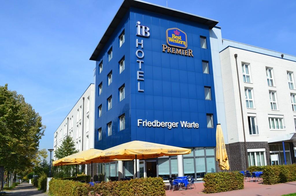 Hotel Best Western Friedberger Warte Frankfurt