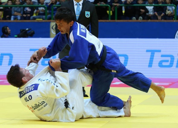 Tilovov triumph provides the highlight of opening day of IJF Grand Prix in Tashkent