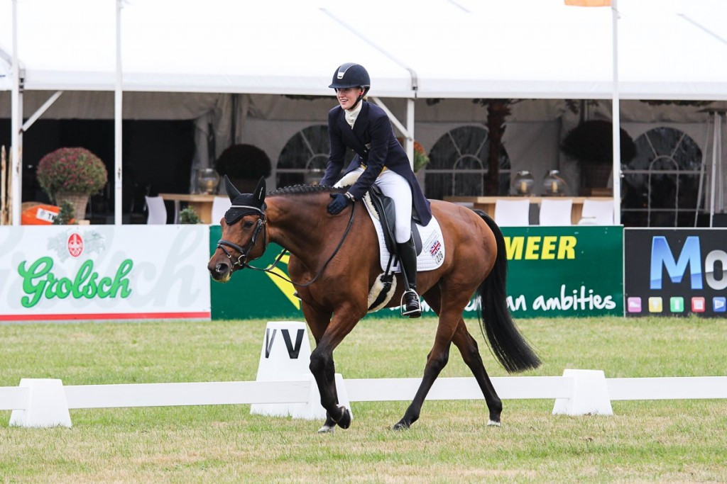 Britain's Innes Ker out in front at FEI Nations Cup Eventing finale