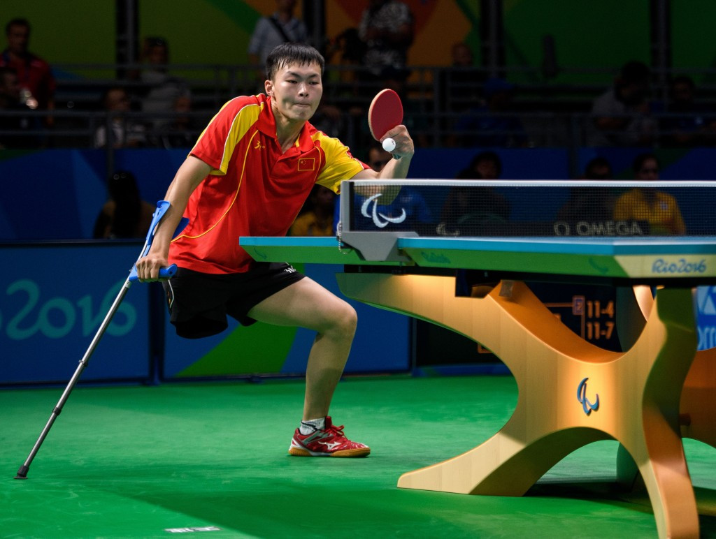 China were the dominant nation in table tennis at the Rio 2016 Paralympic Games ©Getty Images