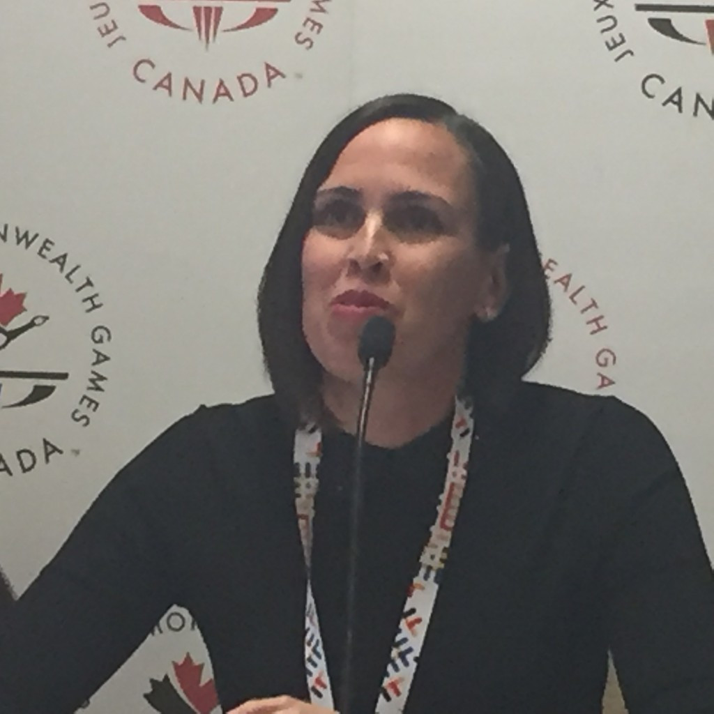 Claire Carver-Dias has been named as Canada's Chef de Mission for Gold Coast 2018 ©ITG