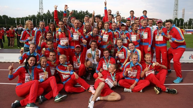Hosts Russia regain European Team Championships as five more records go
