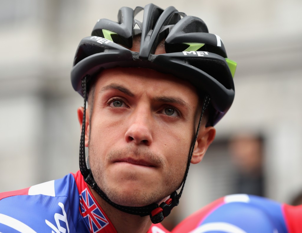 Former Team Sky rider Jonathan Tiernan-Locke has claimed tramadol was offered to British riders ahead of the 2012 World Championships ©Getty Images