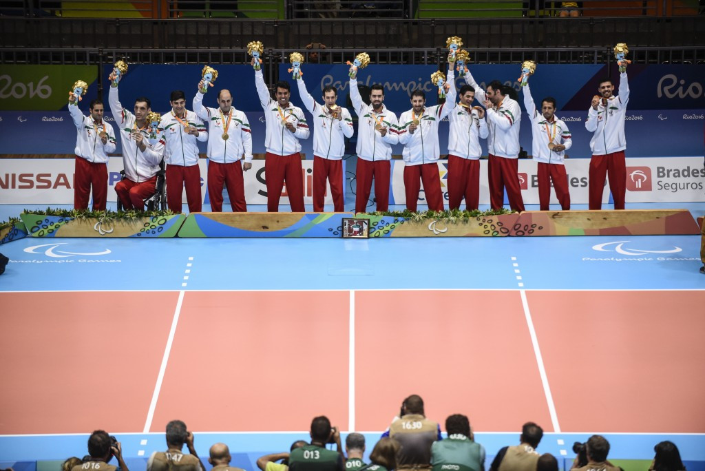Iran won the men's sitting volleyball title at the Rio 2016 Paralympic Games ©Getty Images