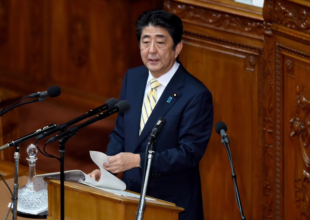 Japan's Prime Minister Shinzō Abe has said it is