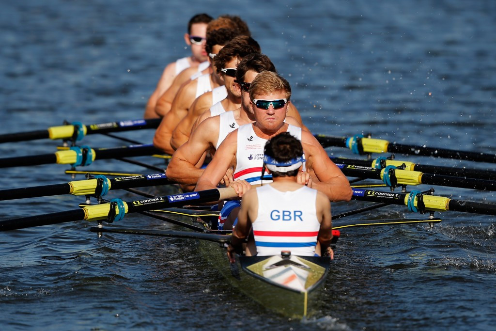 British men's eight earn early revenge over Germany in Varese Rowing World Cup II