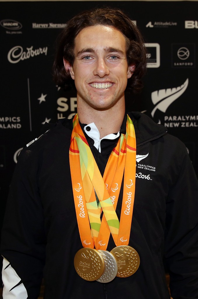 New Zealand's double Rio 2016 Paralympic gold medallist given key to city of Nelson