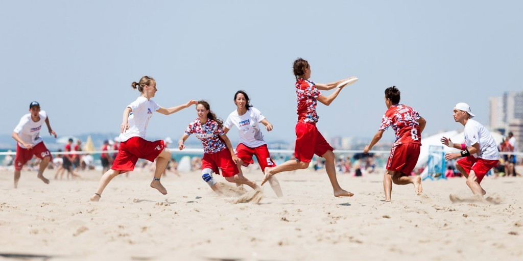 The Beach Ultimate World Championships will be held in France in 2017 ©WCBU