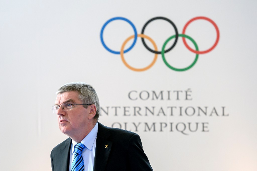IOC President Thomas Bach claimed the recommendations would help to harmonise the global anti-doping system ©Getty Images
