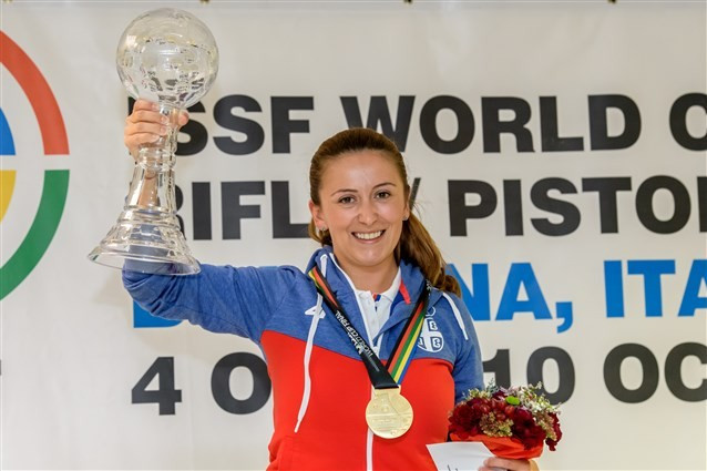 Arsovic puts Rio 2016 disappointment to one side with ISSF World Cup Final victory