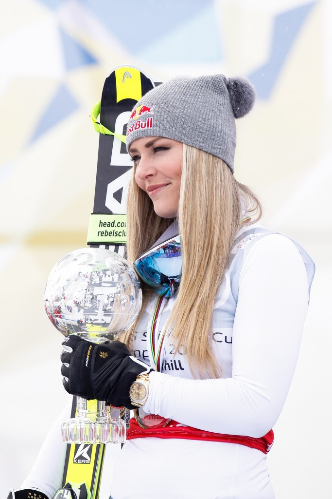 Olympic skiing champion Vonn to appear in new Eurosport series
