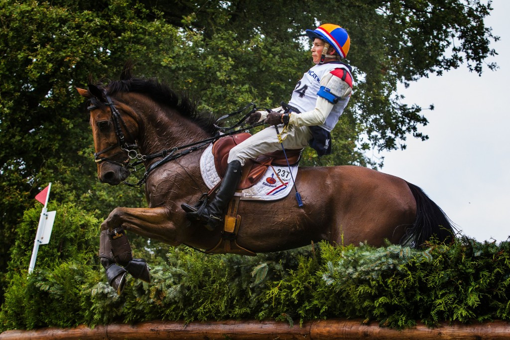 Action concluded today at the last FEI Nations Cup Eventing competition of the season in Boekelo ©Getty Images