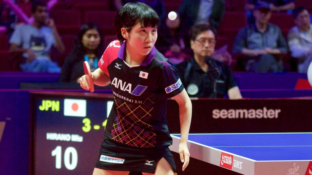Hirano makes history as youngest ever winner of ITTF Women's World Cup