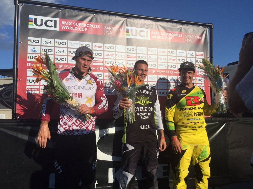 Sharrah and Smulders seal BMX Supercross World Cup crowns in Sarasota