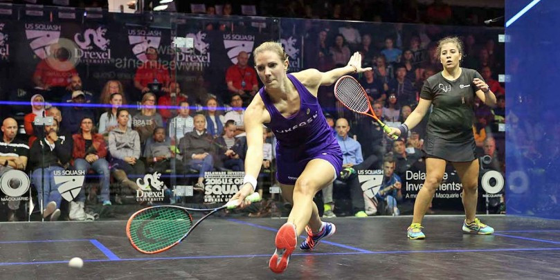 Both defending champions ease into second round of PSA US Open