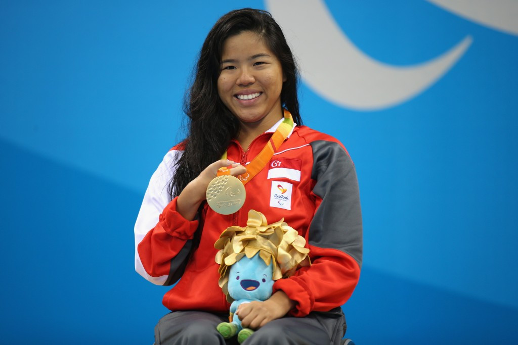 Singapore's Paralympian Yip Pin Xiu is set to receive SGD $400,000 ($291,000/£234,000/€260,000) for the two gold medals that she won in the recent Rio 2016 Paralympic Games ©Getty Images