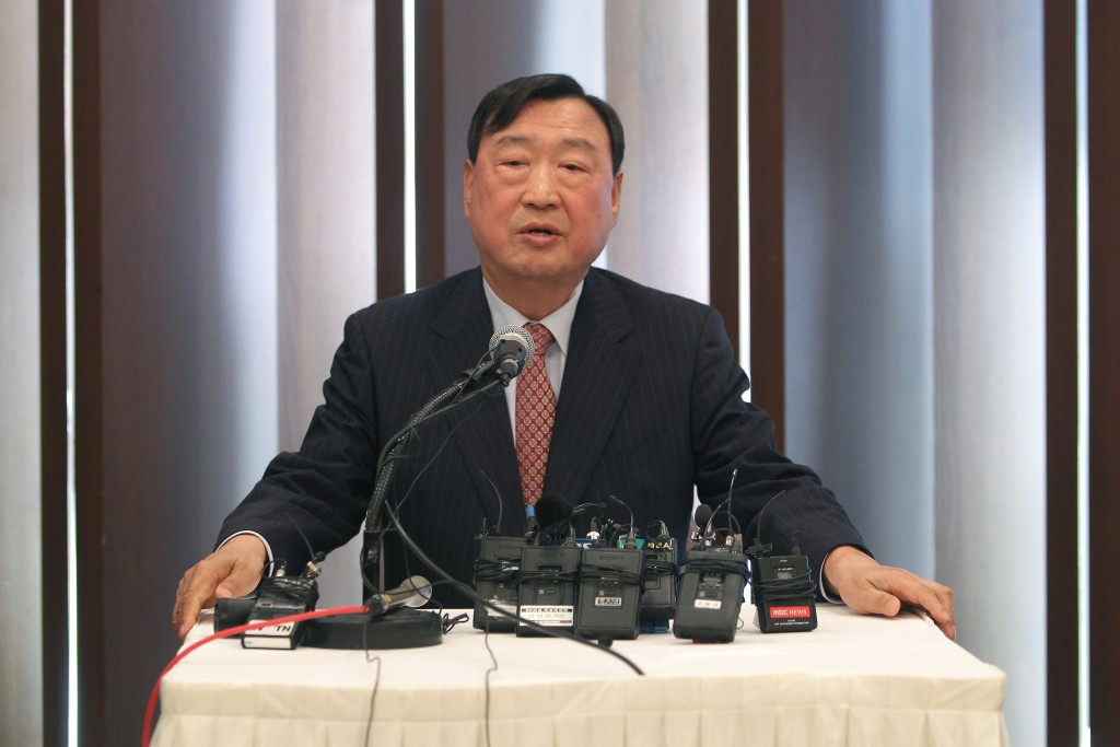 Lee Hee-beom has defended all Pyeongchang 2018 construction contracts during the World Press Briefing ©Getty Images