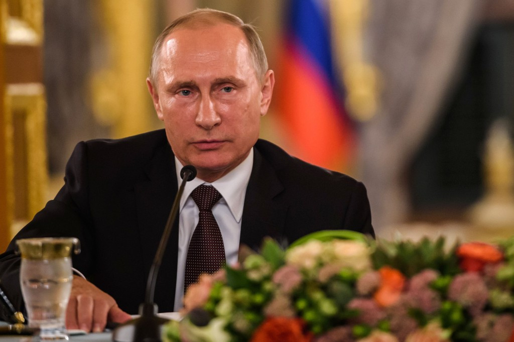 Russian President Vladimir Putin has claimed athletes with TUEs should not be allowed to take part in major events ©Getty Images