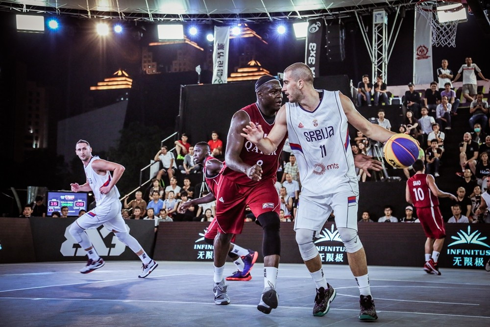 Reigning champions Qatar defeated as Serbia gain revenge on opening day of FIBA 3x3 World Championships