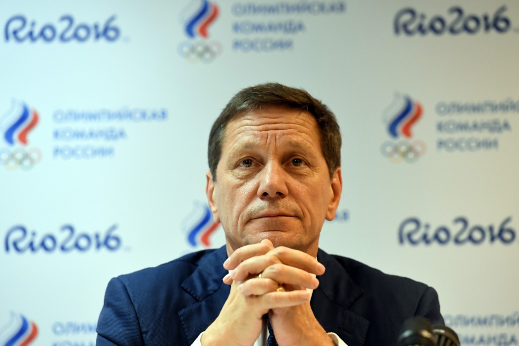 Alexander Zhukov is set to stand down as President of the Russian Olympic Committee ©Getty Images
