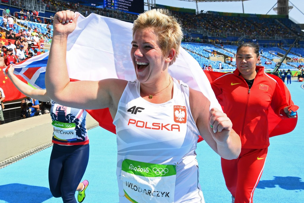 Rio 2016 champion Anita Wlodarczyk looks set to become a double Olympic gold medallist ©Getty Images